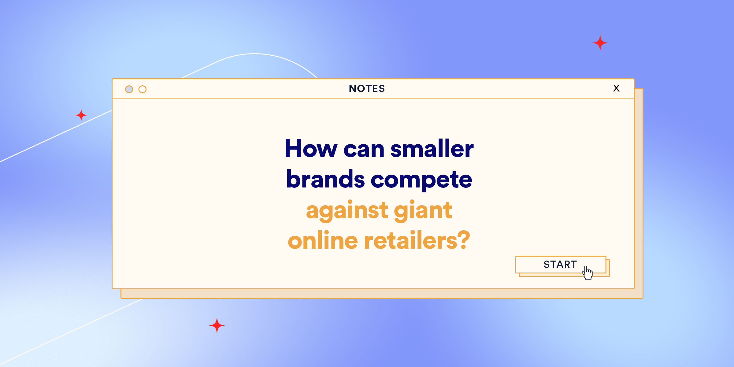 With shoppers around the globe enjoying the fast delivery and product consistency of retail giants like Amazon, Alibaba, eBay and Walmart, how can smaller stores stay competitive?